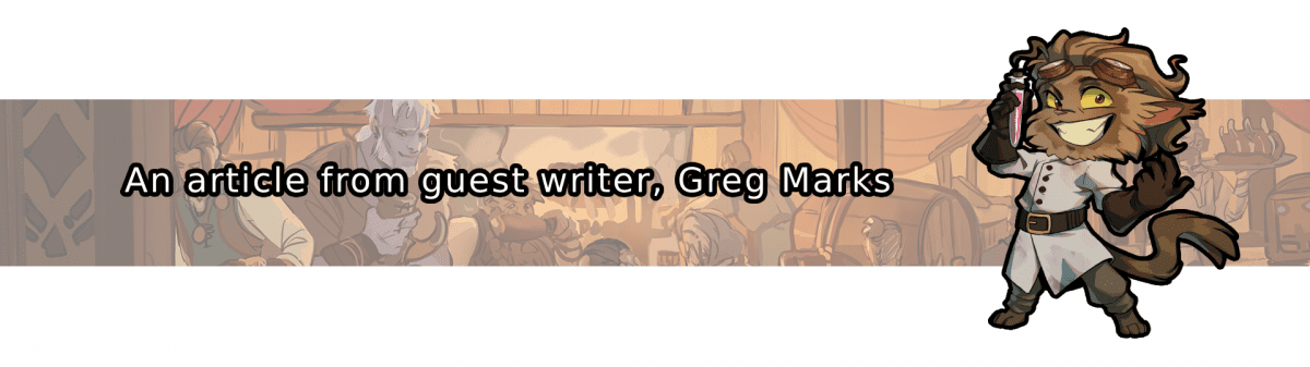 An article from guest writer, Greg Marks