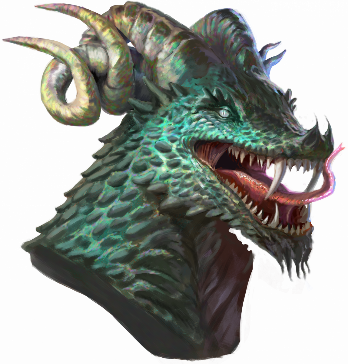 Angry Dragonborn