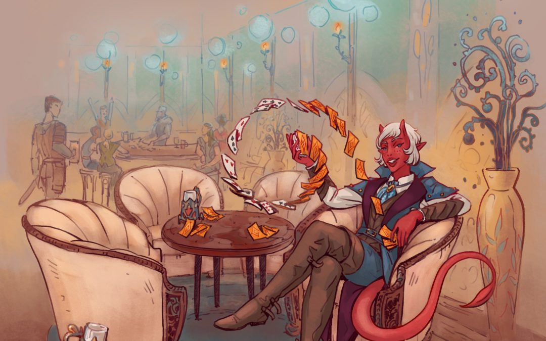 The Trouble of Playing a Tiefling